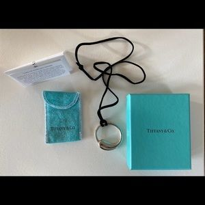 Tiffany & co key ring